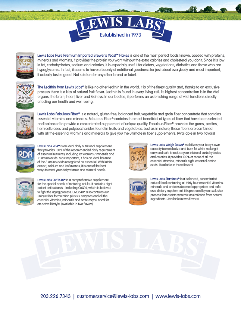 Lewis Labs Ad