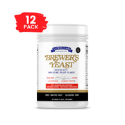 SPECIAL 12  BOTTLES<br />Lewis Labs<br /> Brewer's Yeast™ Flakes</br>