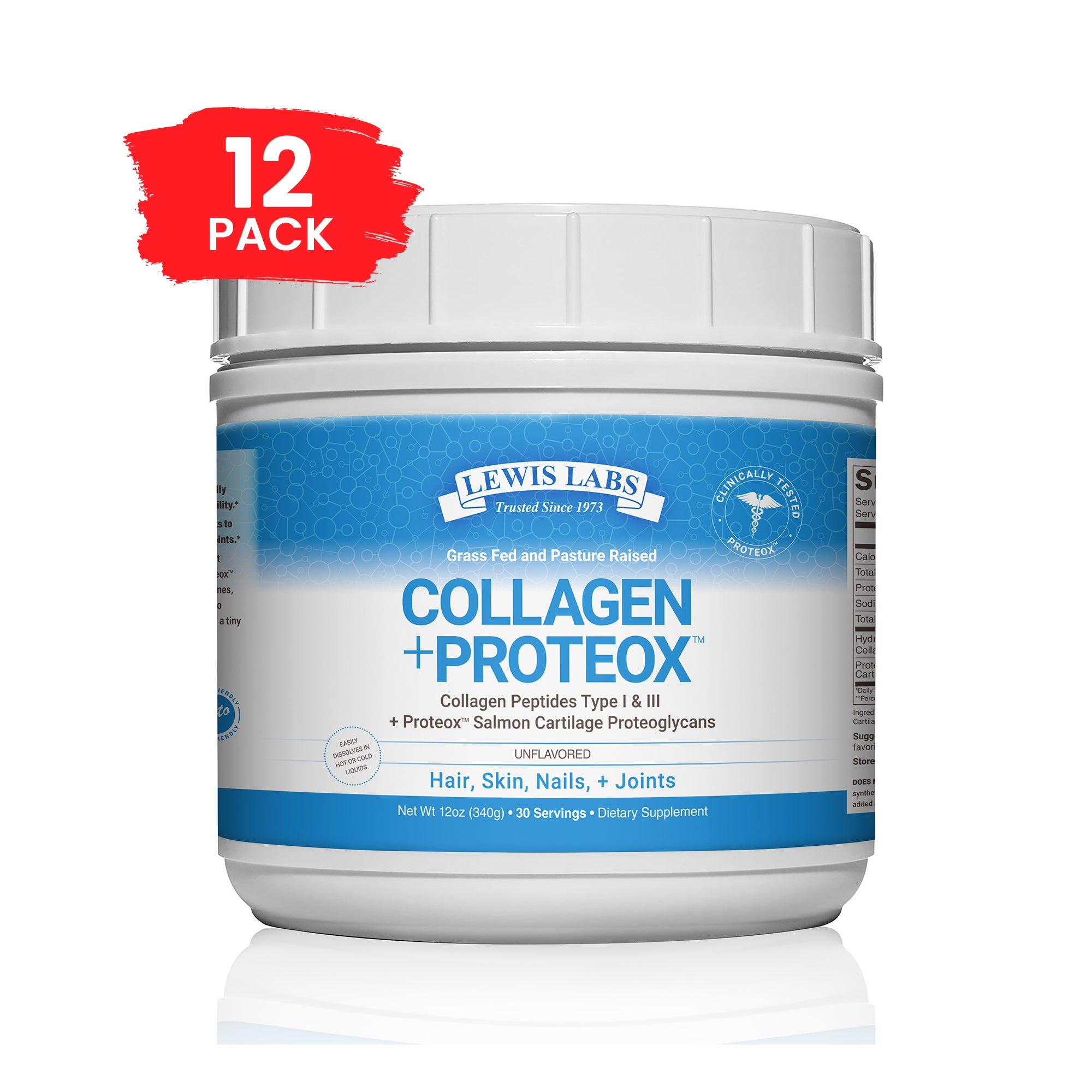 Special! Collagen + Proteox 12 oz 12 Pack