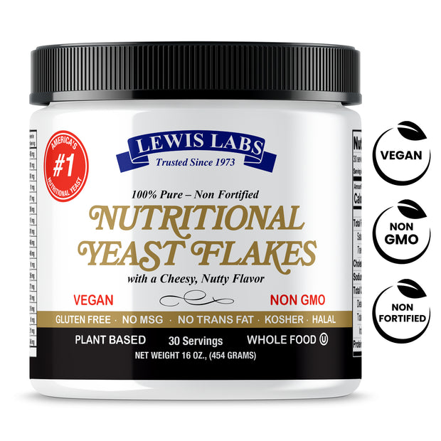 VEGAN Nutritional Yeast mini FLAKES1 Lb. MEGA SALE 25% OFF!