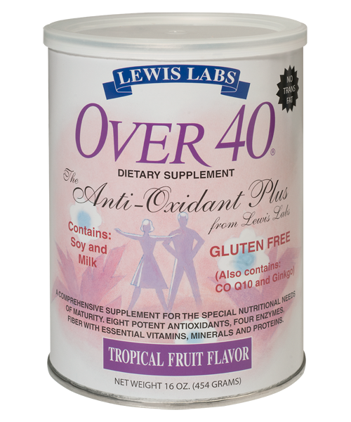 Lewis Labs<br /> Over 40<sup>®</sup><br /> Tropical Fruit Flavor