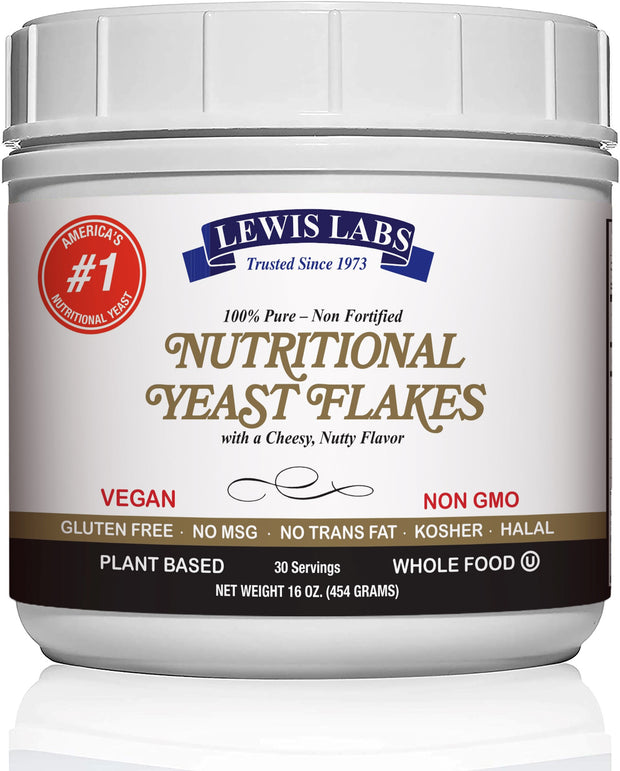 Vegan Nutritional Yeast mini flakes 1 Lb.