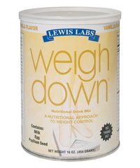 Lewis Labs<br /> Weigh Down<sup>®</sup><br /> Vanilla