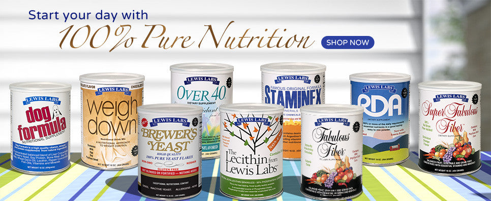 Start your day with 100% Pure Nutrition