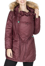 Load image into Gallery viewer, SOFIA - WAXED SHELL 3 IN 1 MATERNITY PARKA JACKET