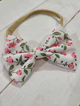 Load image into Gallery viewer, Baby bows- Garden party collection
