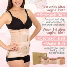 Load image into Gallery viewer, 3 in 1 Postpartum Belly Support Recovery Wrap