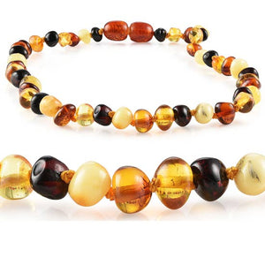 "Kids | ""Grow With Me"" Baltic Amber Necklace Sets - MULTI"
