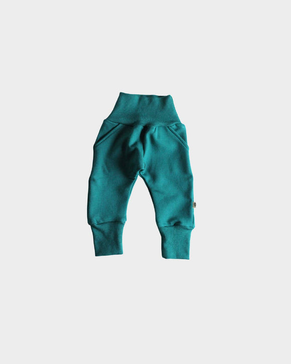 Preorder Fleece Sweatpants in Peacock