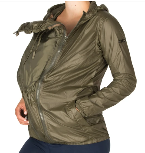 WATERPROOF MATERNITY WINDBREAKER JACKET