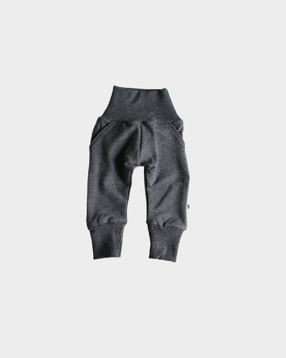 Preorder Fleece Sweatpants in Charcoal Mix