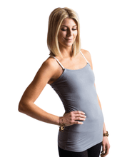 Load image into Gallery viewer, Undercover Mama Nursing Tank - Grey