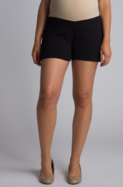 Maternity Shorts Black