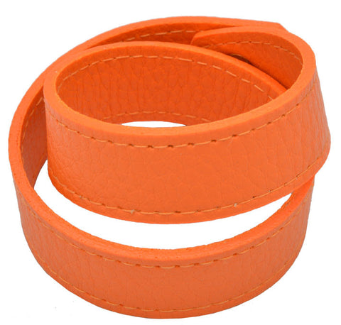 Debra Shepard Vegan Wrap Bracelet - Orange