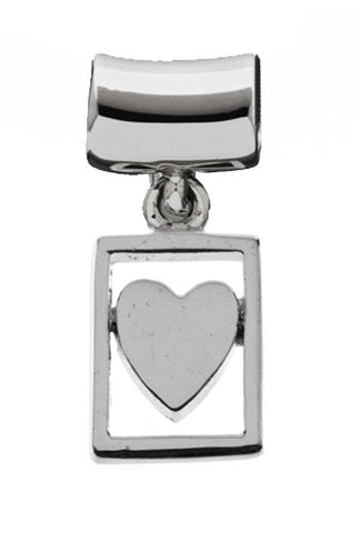 Silver Charms Heart