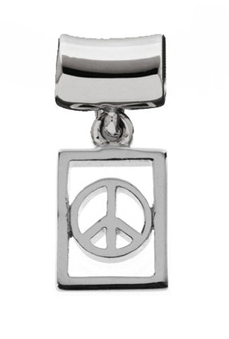 Silver Charms Peace