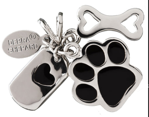 Dog Lovers Silver Charm