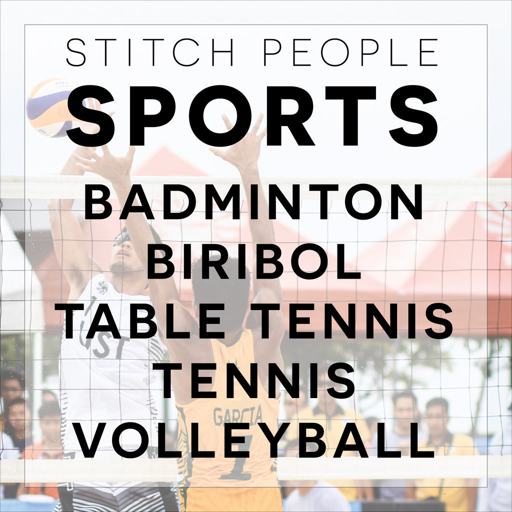 Ball Over Net Sports Patterns