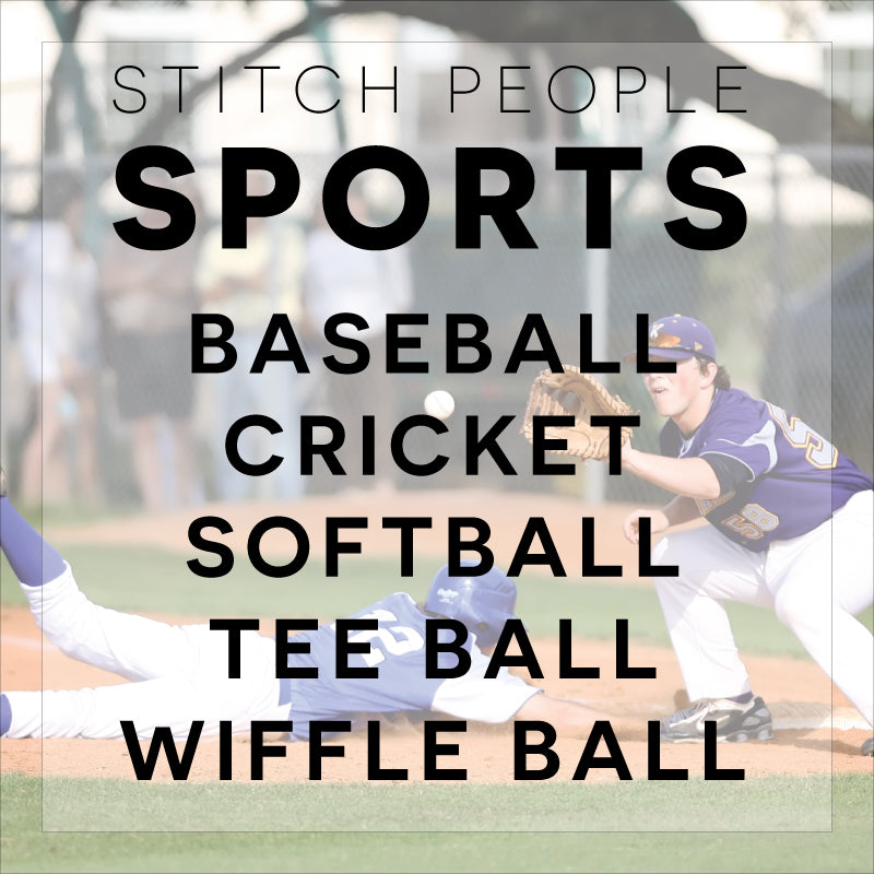 Bat & Ball Sports Patterns