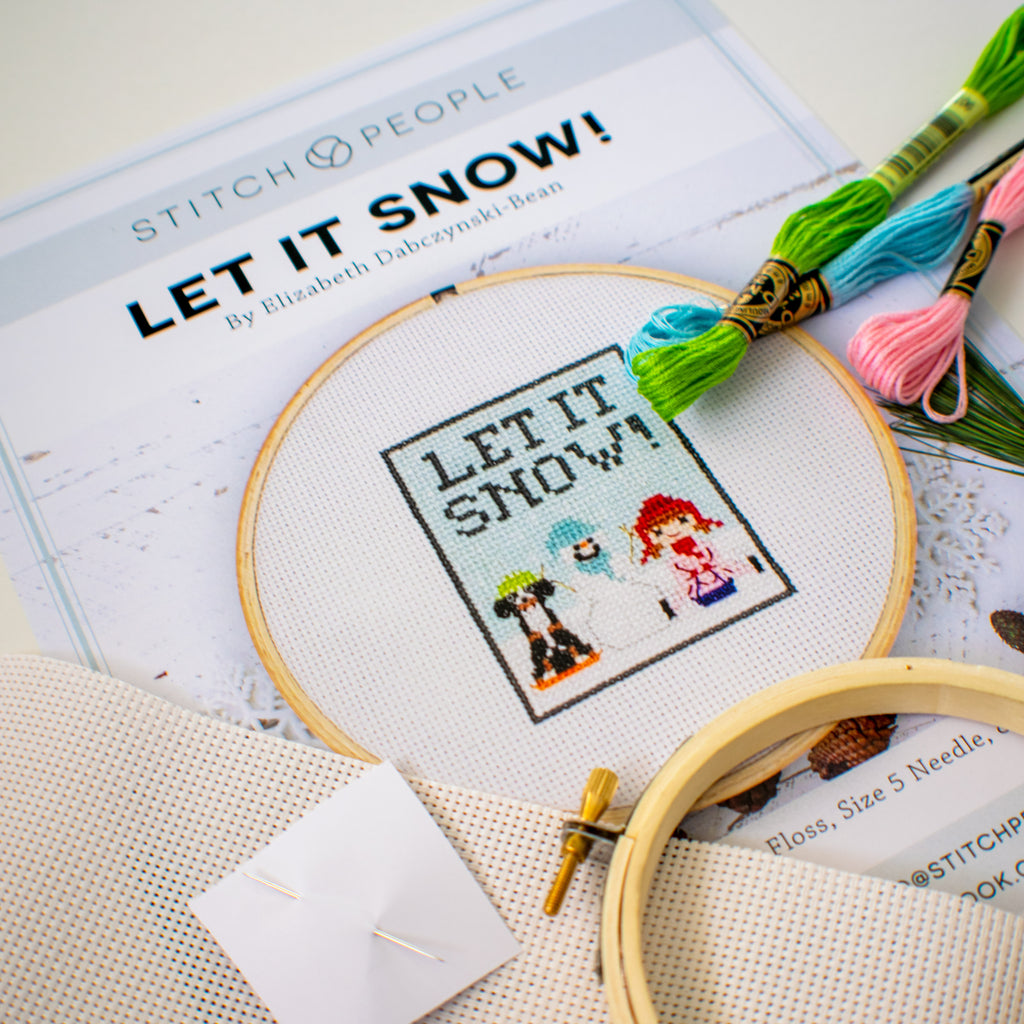 Let it Snow Cross-stitch Kit
