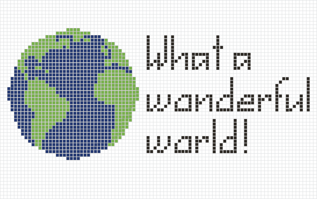 Free Earth Day Pattern