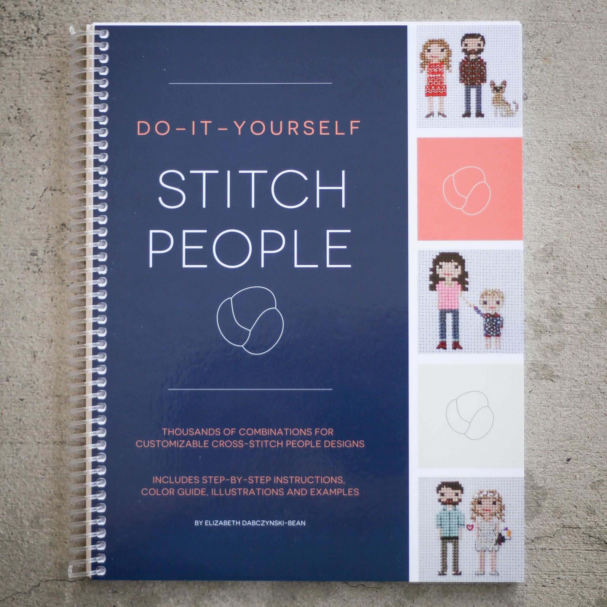 Diy stitch people book cross stitch portrait patterns do it yourself stitch people book solutioingenieria Image collections