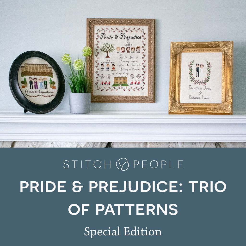 SPECIAL EDITION - Pride & Prejudice Trio of Patterns
