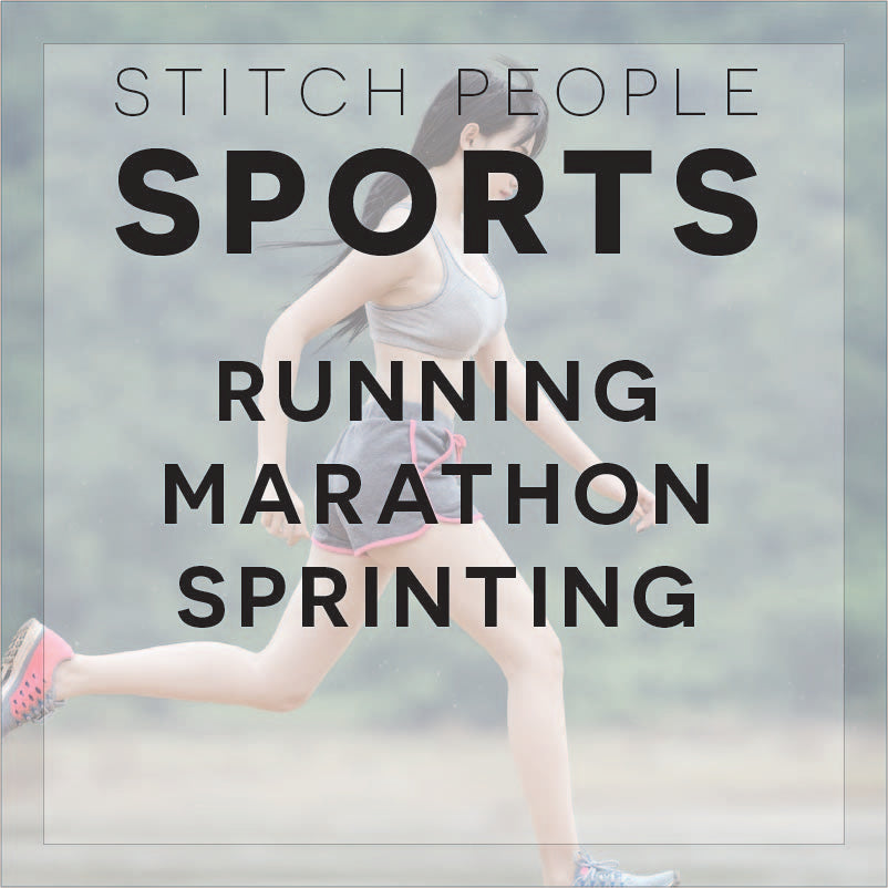 Running Sport Patterns