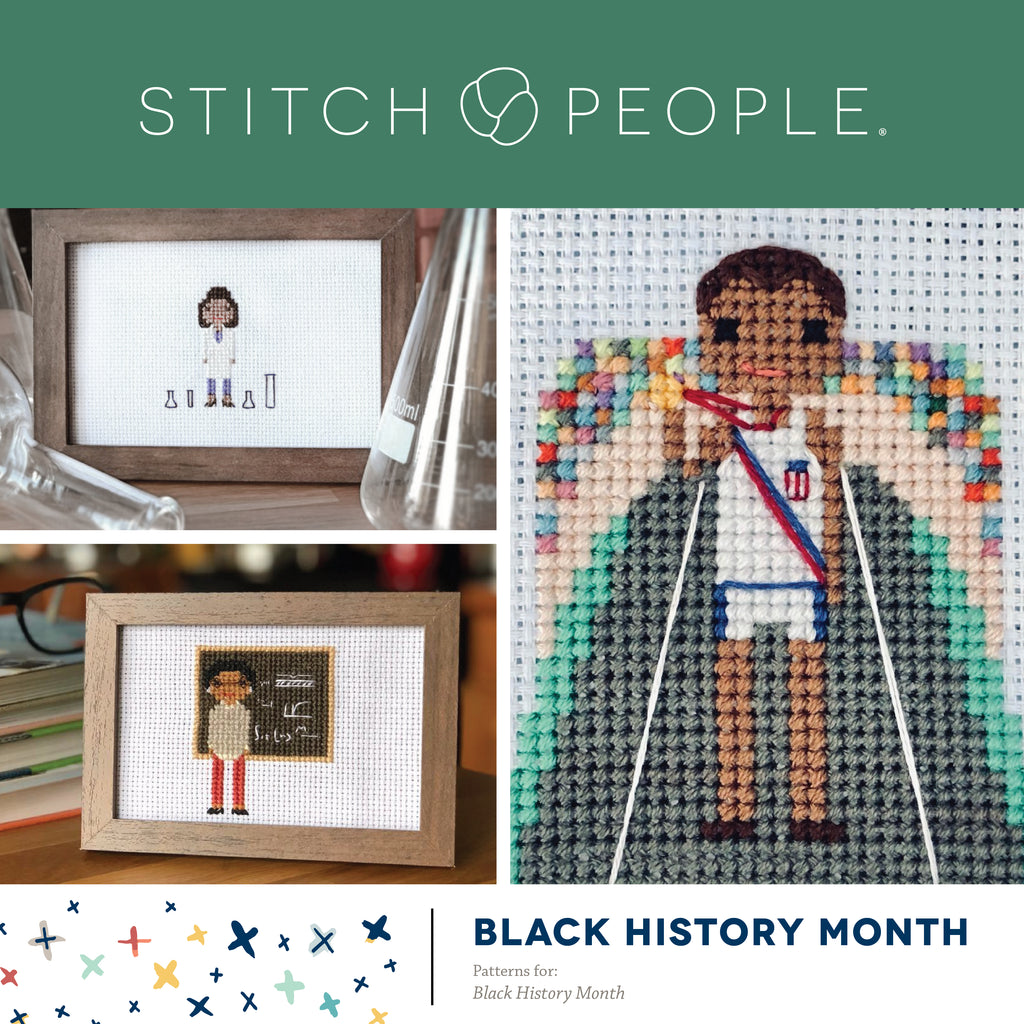 Black History Month Stitch People Patterns