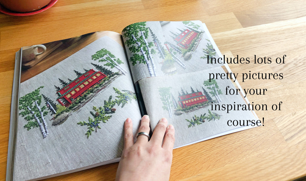 Hand-Stitched House: a guide to designing and embroidering a portrait of your home