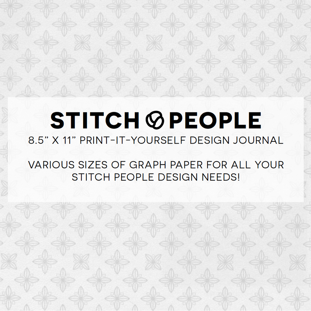 Free Printable Cross Stitch Design Journal