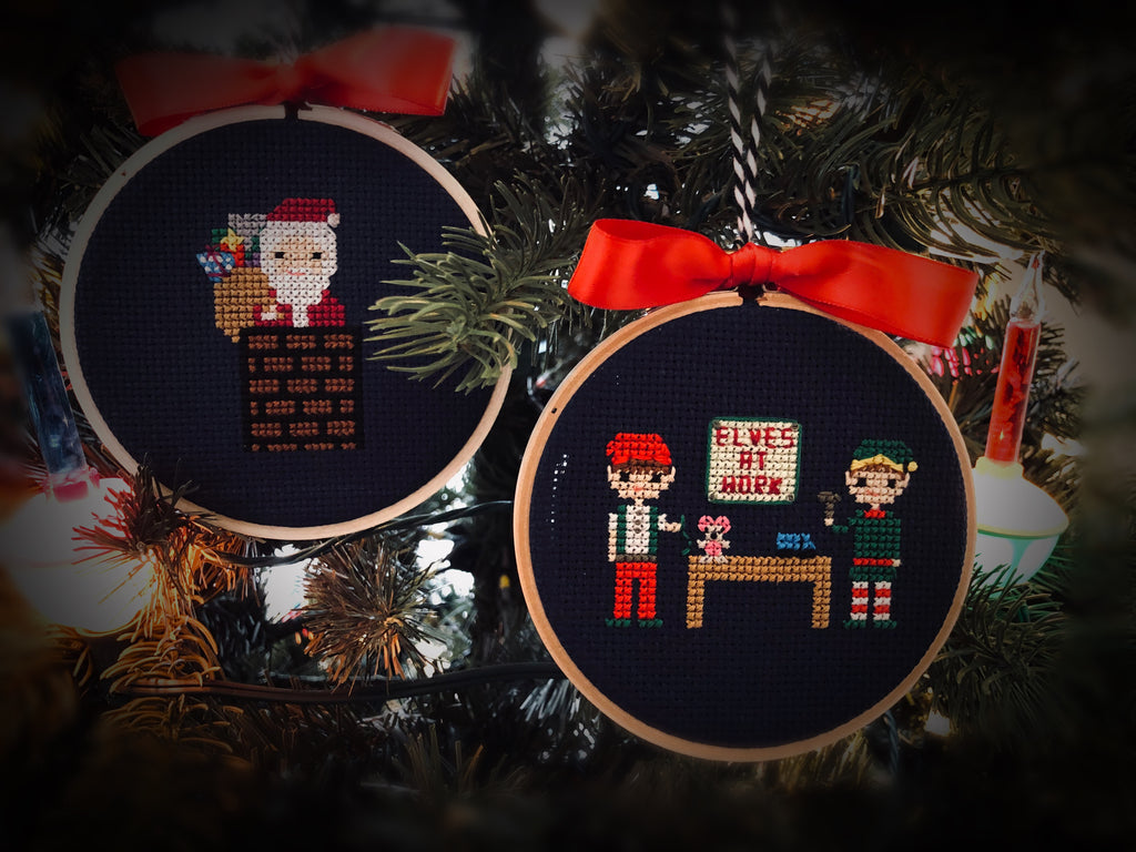 Santa's Workshop - Christmas Extras Pattern Set