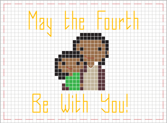 Free May the Fourth Pattern