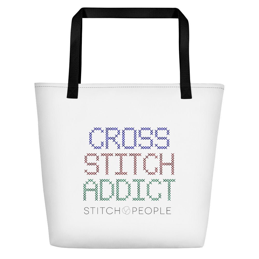 Stitch People Addict Tote Bag
