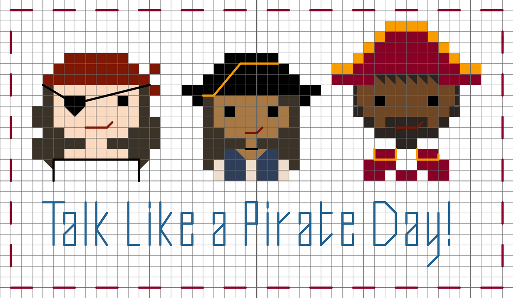 Free Pirate Pattern