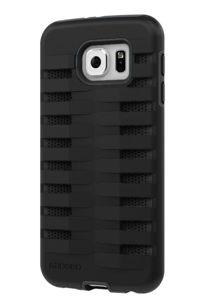 Galaxy S6 Two Layer Protective Case: Discovery - Black & Black