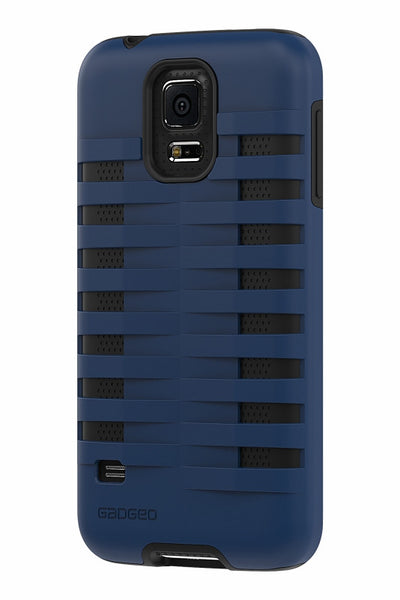 Galaxy S5 Two Layer Protective Case: Discovery - Blue & Black