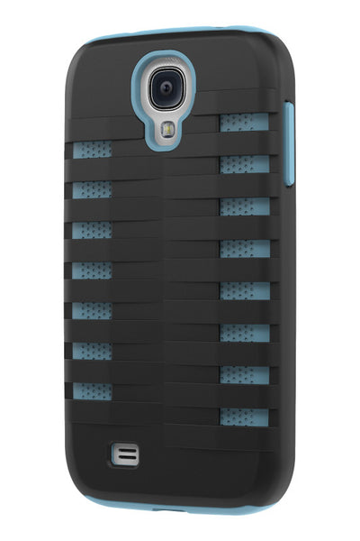 Galaxy S4 Two Layer Protective Case: Discovery - Black & Blue