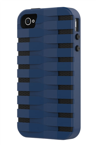 iPhone 4 & 4S Two Layer Protective Case: Discovery - Blue & Black