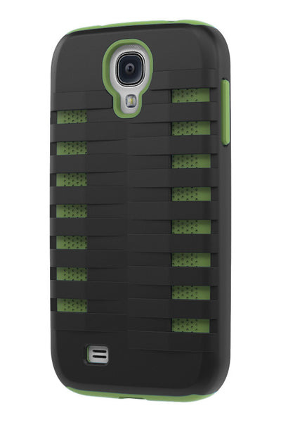Galaxy S4 Two Layer Protective Case: Discovery - Black & Green