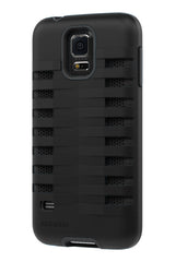 Galaxy S5 Two Layer Protective Case: Discovery - Black & Black