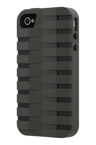 iPhone 4 & 4S Two Layer Protective Case: Discovery - Grey & Black