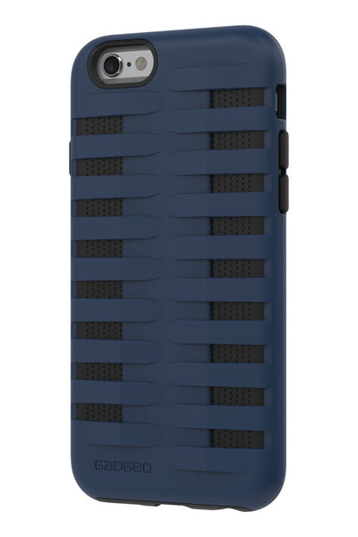 iPhone 6 & 6S Two Layer Protective Case: Discovery - Blue & Black