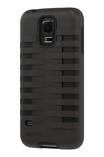 Galaxy S5 Two Layer Protective Case: Discovery - Grey & Black