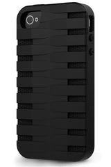 iPhone 4 & 4S Two Layer Protective Case: Discovery - Black & Black