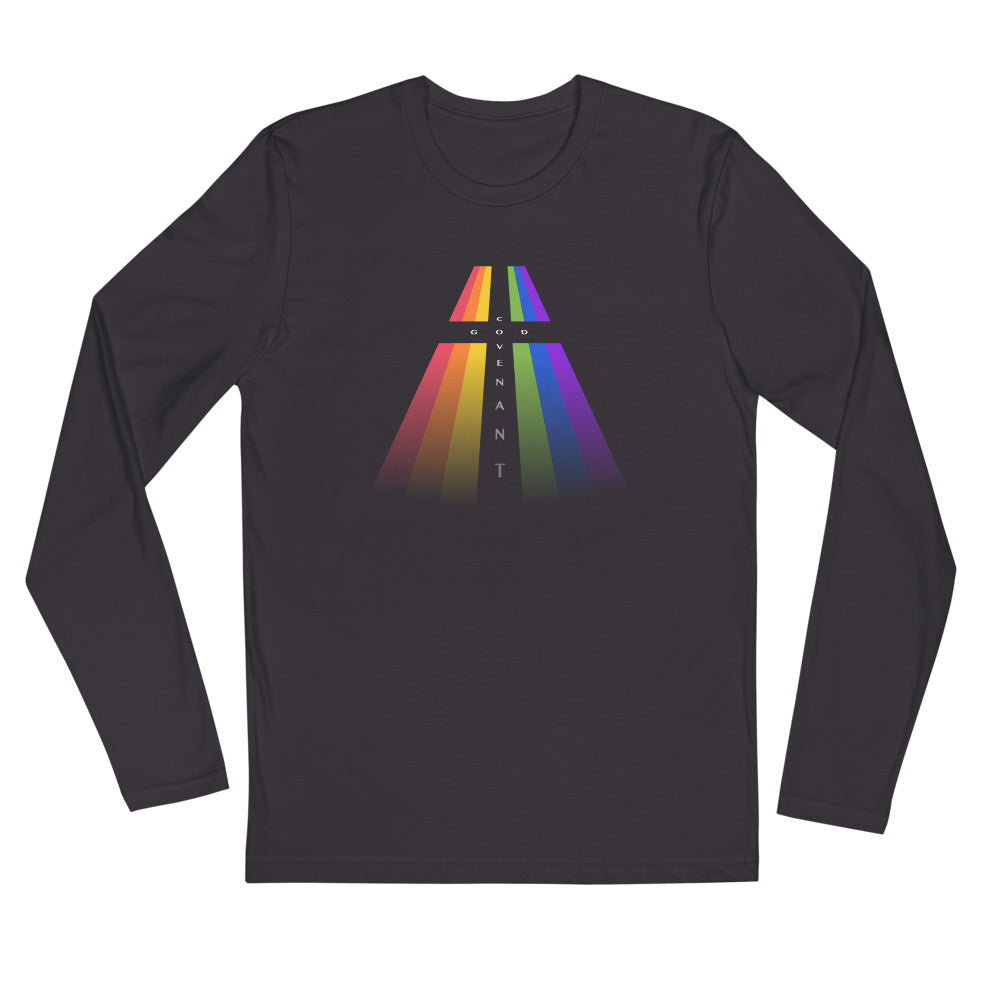 Long Sleeve Fitted - Rainbow Covenant