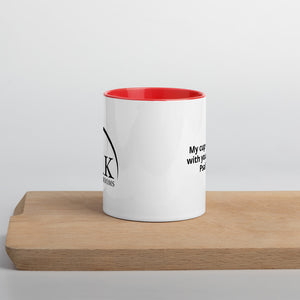 Mug with Color Inside - overflow