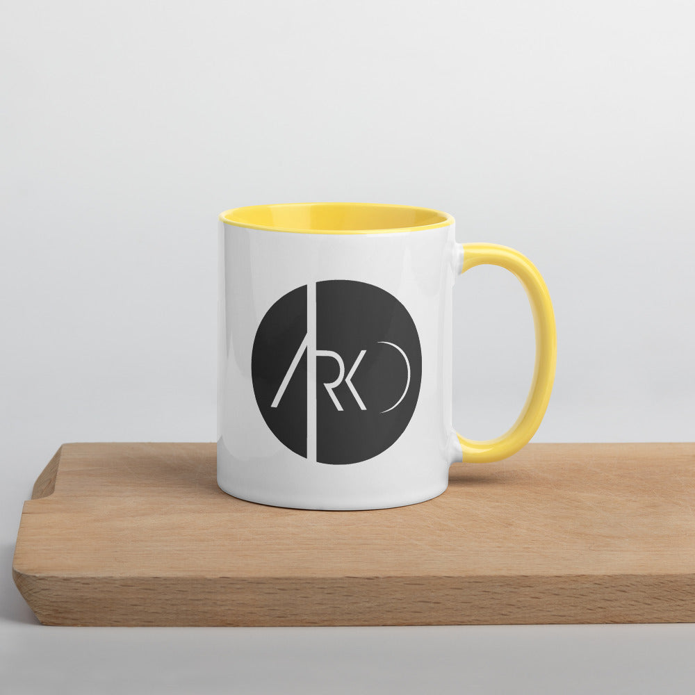 Mug with Color Inside - The Ark Cafe