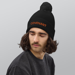 Pom pom beanie - Rainbow - Covenant