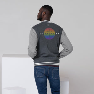 Men's Letterman Jacket - Rainbow - Covenant